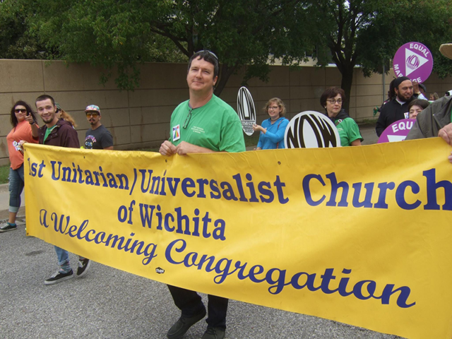 First UU at Pride Parade